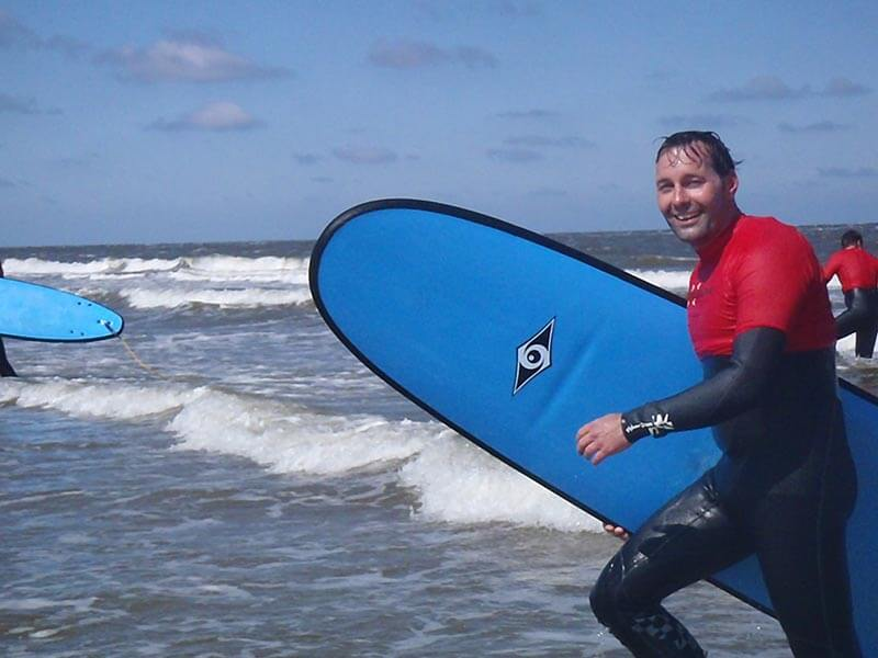 Spaans en Surf San Sebastián