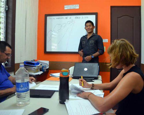 Spaans leren in Bocas del Toro