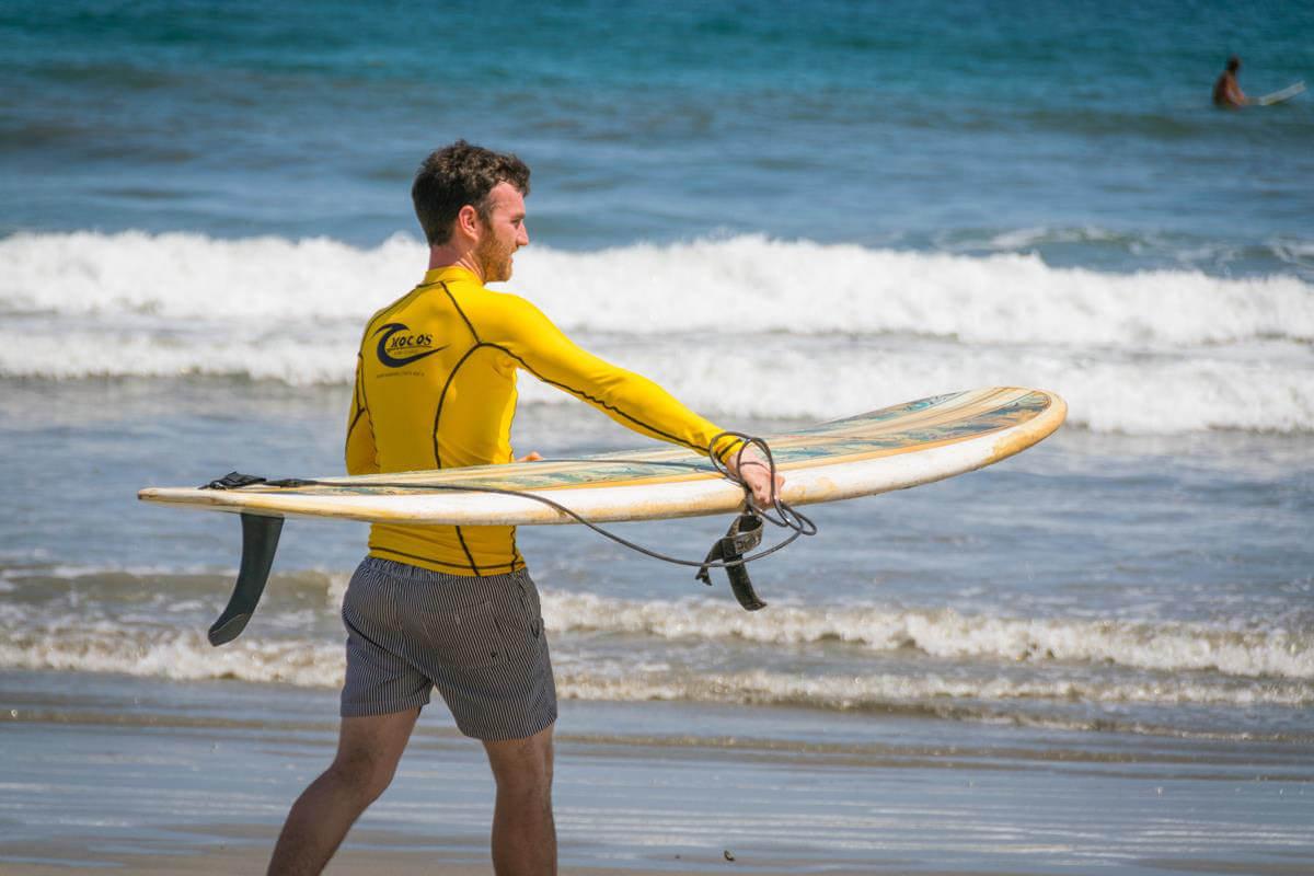 Spaans en Surf Sámara