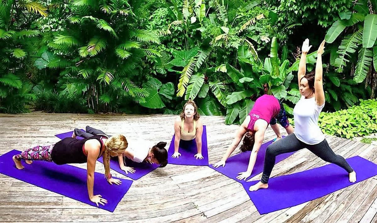 Spaans en Yoga